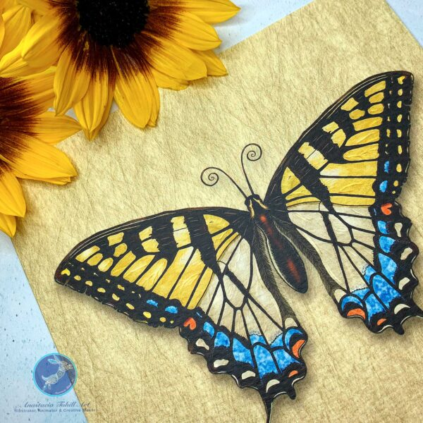 Anastacia Tohill Art Butterfly Greeting Card, Norfolk Swallowtail Butterfly Card, Cards, Greeting Cards, Gifts