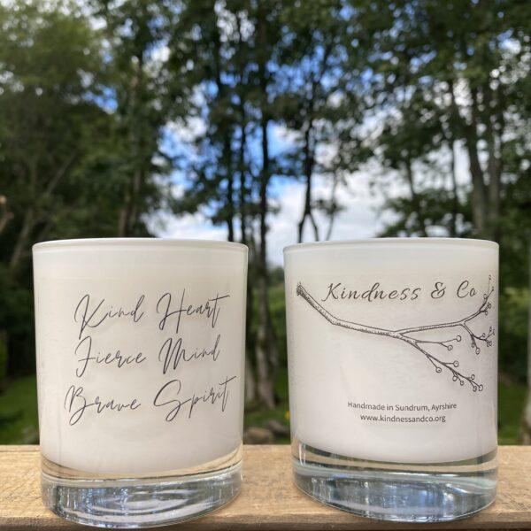 Kind Heart - Wintertime Soy Candle ayrshire, scotland, vegan friendly oilsKindness & Co