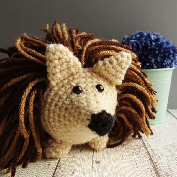 Learn with me how to make this hedgehog