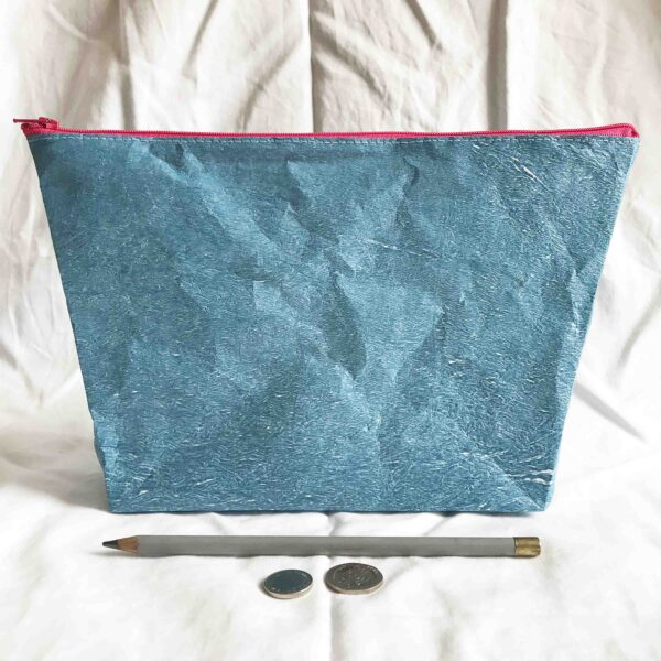 made by kelly o upcycled accessories narwhal zip bag