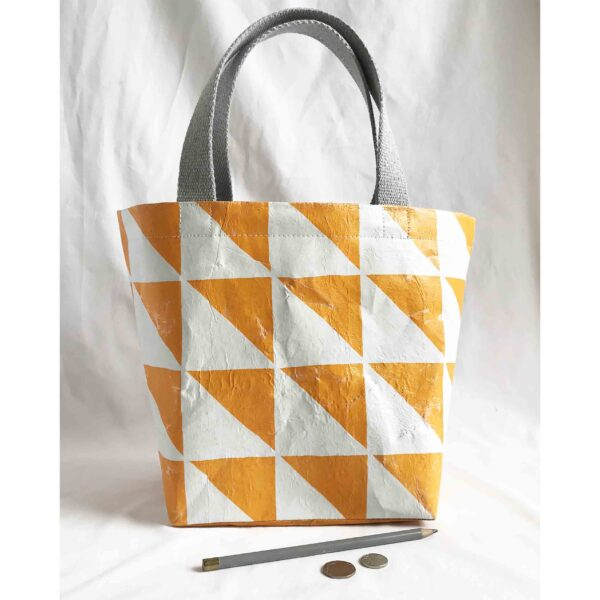 made by kelly o upcycled accessories seal pup tote bag