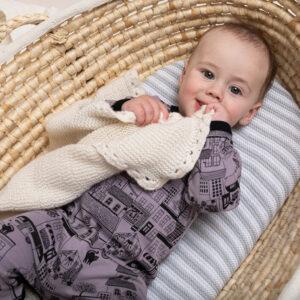Dinki Human Organic Baby clothes, dinkiville onesie