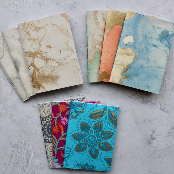 A6 Pocket Notebooks - Bound By Sarah