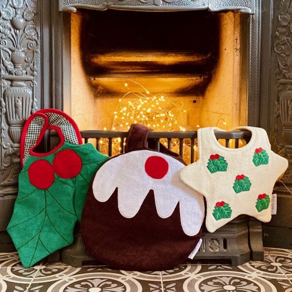 Dribble Days, Christmas Baby Bibs