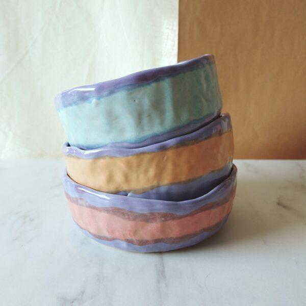 Victoria Ceramics, handmade stoneware pet bowls