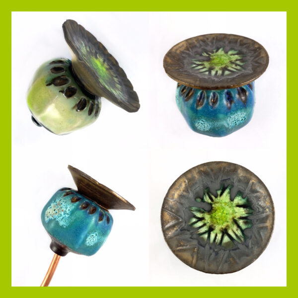 HandmadeCeramic Poppy Seed Heads