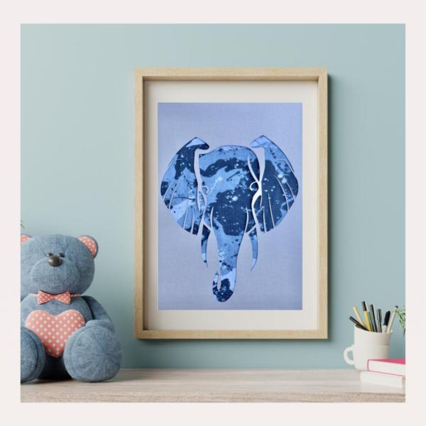 Your 1st Adventures Framed - Elephant
