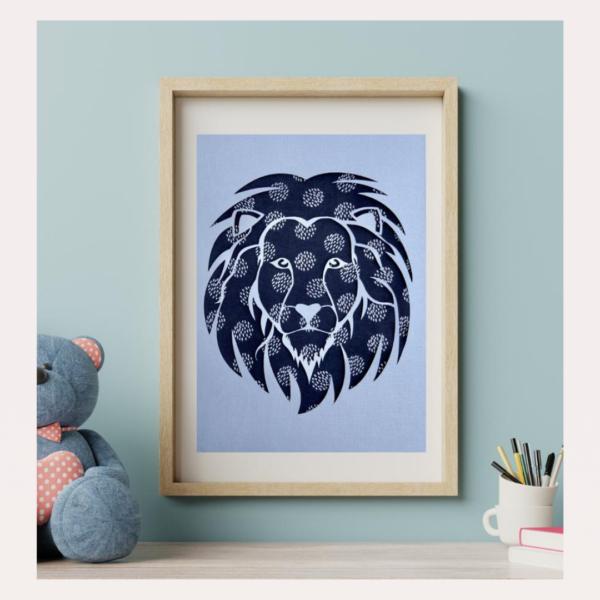 Your 1st Adventures Framed - Lion