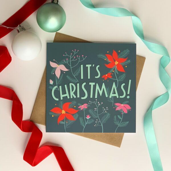 The Adorned Page, It's Christmas Card