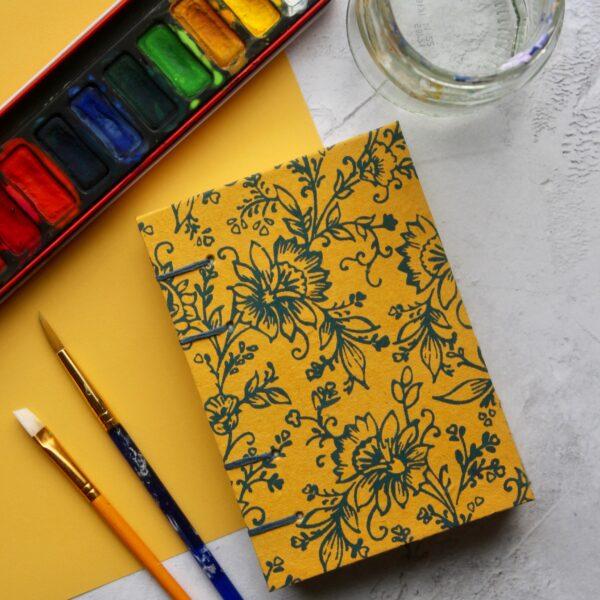 Coptic Bound Watercolour Sketchbook