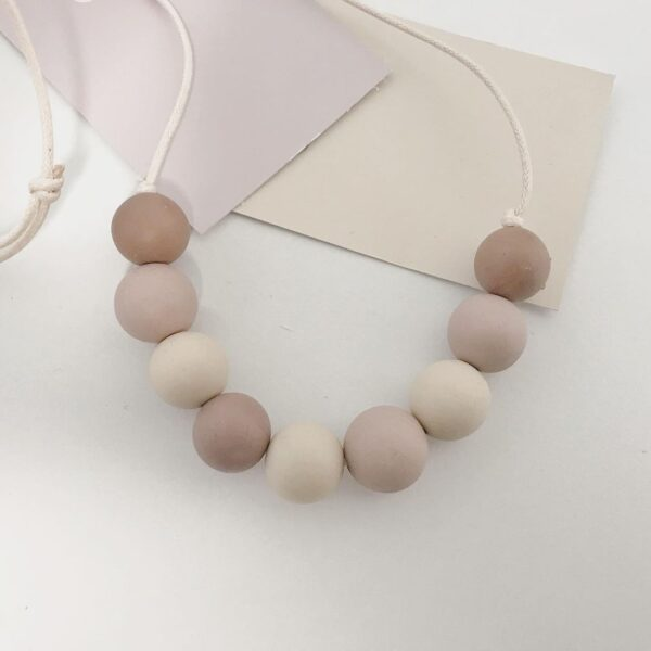 MBR Neutral Colour sweetie Necklace