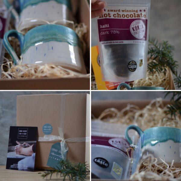 Lorna Gilbert Ceramics, Solstice Hot Chocolate Gift Set