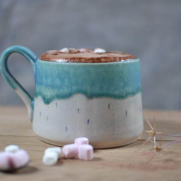 Lorna Gilbert Ceramics, Solstice Hot Chocolate cup