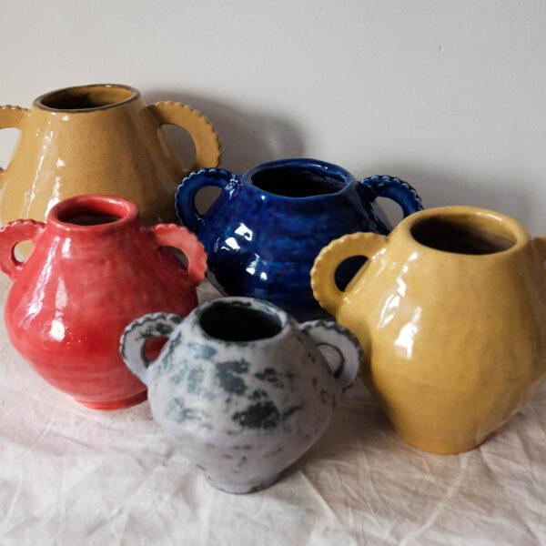 Victoria Ceramics, handmade stoneware vases