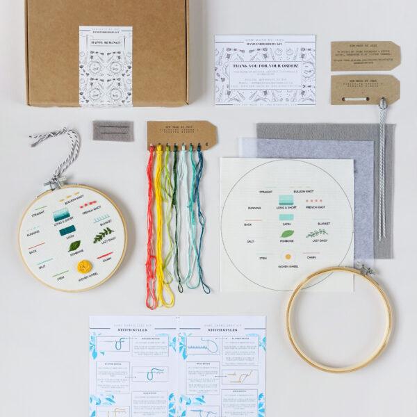 Beginners Embroidery Hoop Kit
