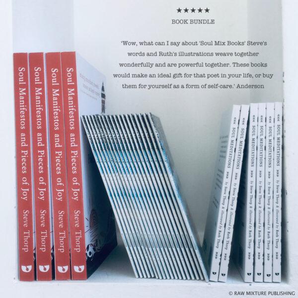 Raw Mixture Publishing, book bundle soulful writing