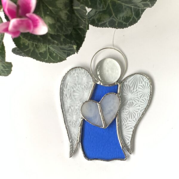 Carole's Glass stained glass Guardian Angel