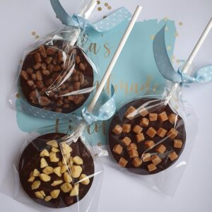 Ella's Handmade Chocolate Dark Chocolate Lollies