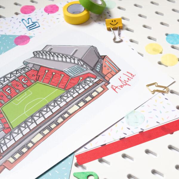 Moo and Snip, Anfield Print