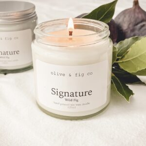 Olive & Fig co Fig Scented Candle