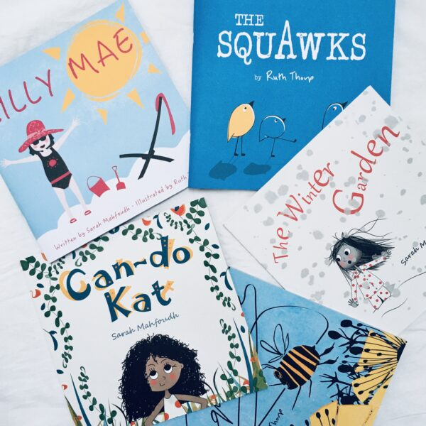 Raw Mixture Publishing illustrated children's books
