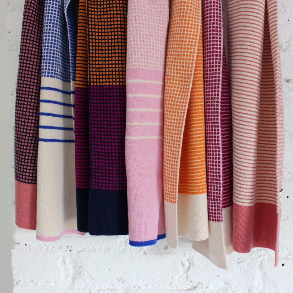 Knitluxe Studio scarves
