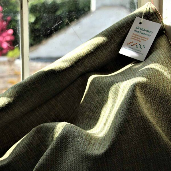 Ali Sharman Handweaver - Howgill Cloth woven from luxurious yarn sourced from Yorkshire Dales sheep