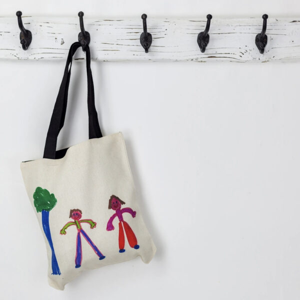Dinky Artist, canvas tote bag