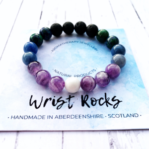 Wrist Rocks Scotland | Northern Lights | Diffuser Bracelet