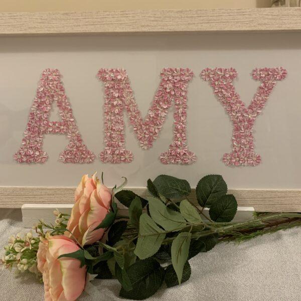 Fleur de L'amour, pink Amy