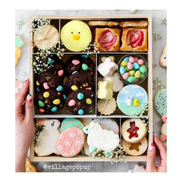 Easter treats. Village Pop Up Spring Inspiration Online Market
