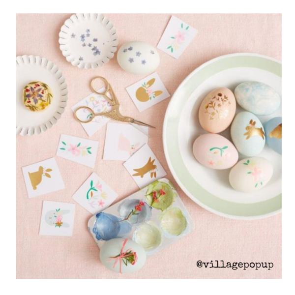 Easter craft. Village Pop Up Spring Inspiration Online Market