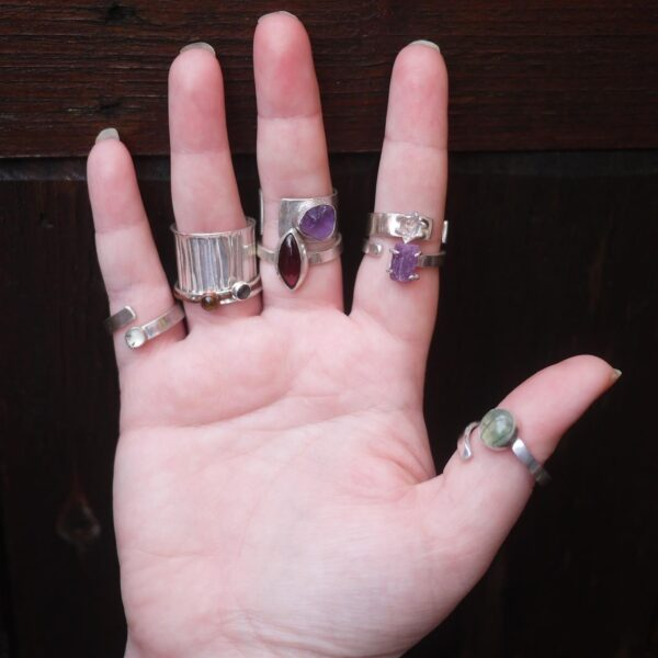 The Archivist and the Sculptor, Collection of our crystal rings
