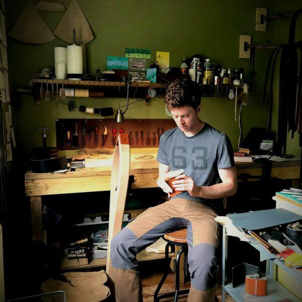 Oliver Foulds, Oliver in workshop