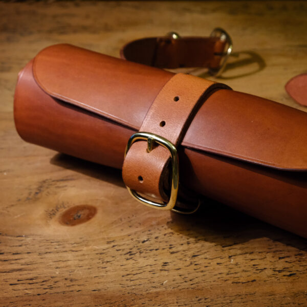 Oliver Foulds, leather tool roll