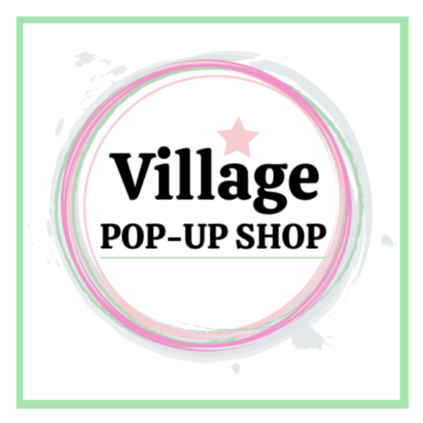 Shop logo. Village Pop-Up Shop