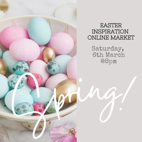 Easter eggs. Village Pop Up Spring Inspiration Online Market