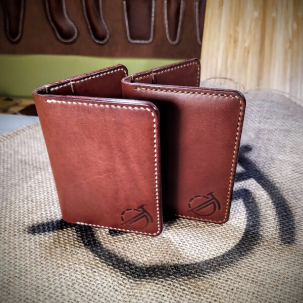 Oliver Foulds, Tailor wallets in dark brown leather