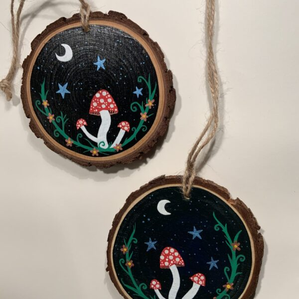 Nature lovers Mushroom / Toadstool in in moonlight