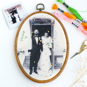 Umay lovemade gifts - Personalised Embroidered Picture