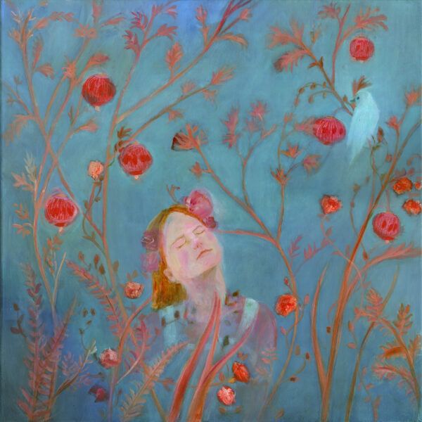 Kate Van Suddese Artist,Dreaming of Spring