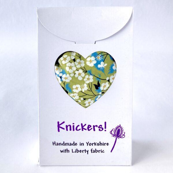 Teazle Handmade Gift boxed liberty knickers