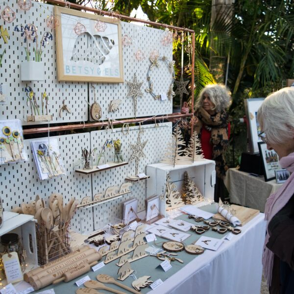 Pop Up in The Palm House Summer Market