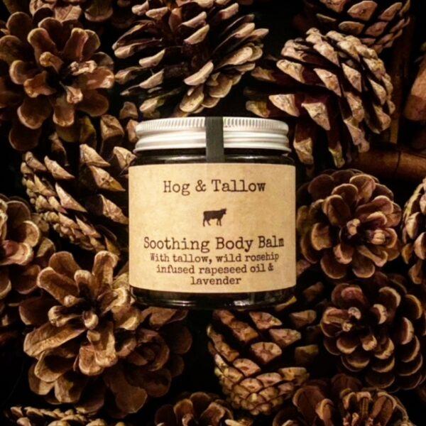 100g Amber Jar of body balm