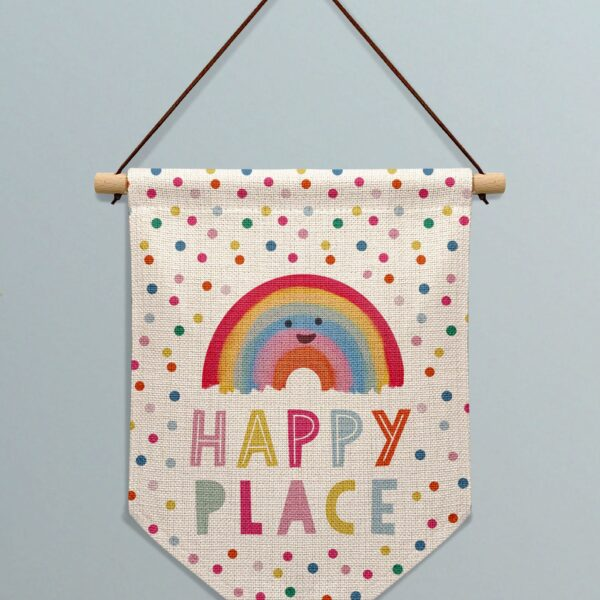 Hannah Jane Designs Co, Happy Place Banner
