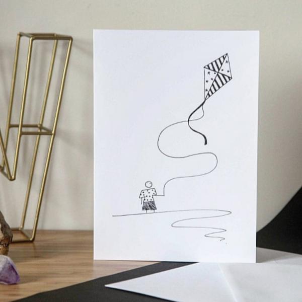 Cute Cartoon Birthday Card for him