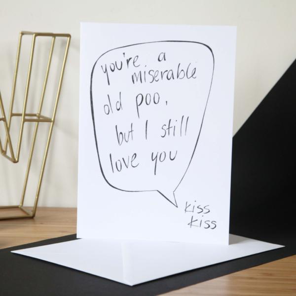 Funny Saying Birthday Card