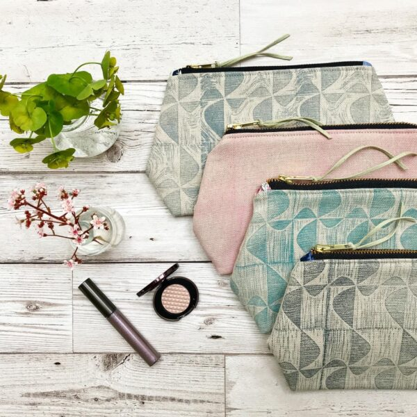 Cushie Doo Textiles Cosmetic Bags