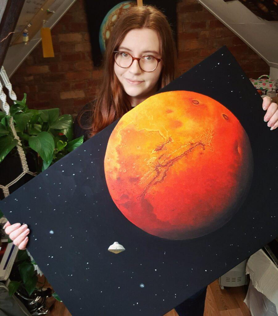 Alien Artistries - Mars Painting