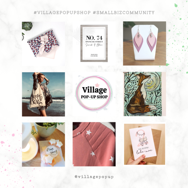 Product Images. Village Pop-Up Shop